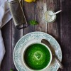 Green Soup with Lemon-Cumin Yogurt + TLT reads: Sunday Suppers
