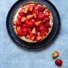 Strawberry tart with luscious coconut cream