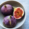 Socca Pizzas with Figs & Mozzarella